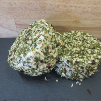 Zachte geitenkaas met paddenstoelen en prei- Kempense Geitenkaas Polle