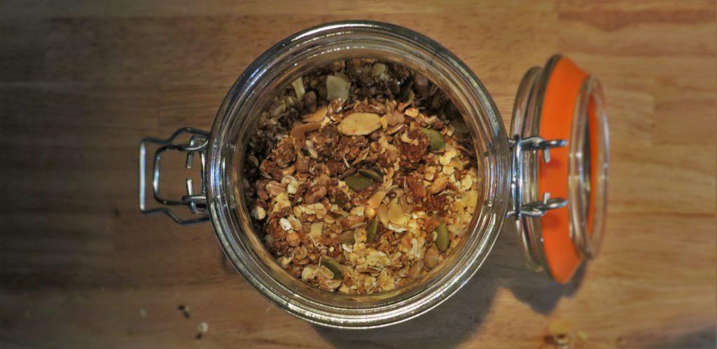 Kempense Geitenkaas Polle recept granola