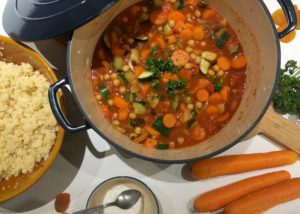 Marokkaanse stoofpot met couscous