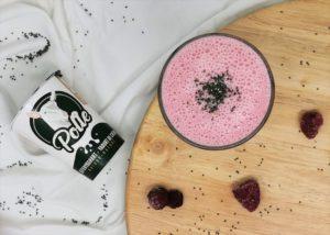 Ontbijt smoothie met Polle's geitenyoghurt