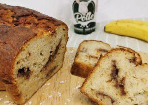 Bananenbrood met Polle's geitenyoghurt